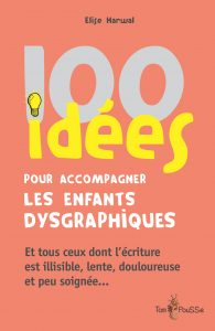 Couverture d'ouvrage: 00 idées pour accompagner les enfants dysgraphiques de Elise HARWAL