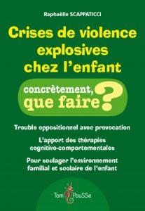 Couverture d'ouvrage: Crises de violence explosives chez l'enfant Broché de Raphaëlle Scappaticci