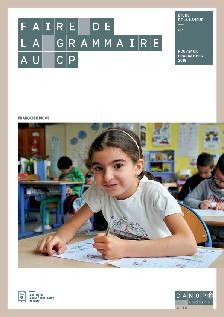 Couverture d'ouvrage: Faire de la grammaire au CP de Françoise Picot