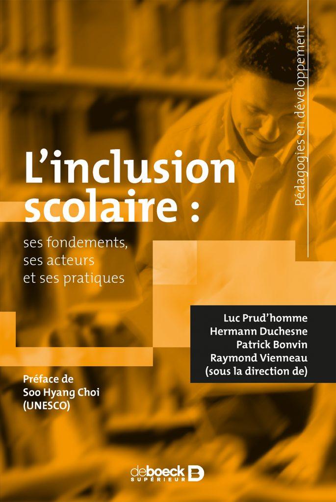 Couverture d'ouvrage: L'inclusion scolaire de Luc Prud'homme