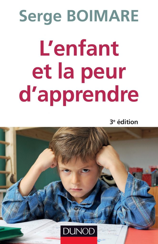 Couverture d'ouvrage: L'enfant et la peur d'apprendre de Serge Boimare