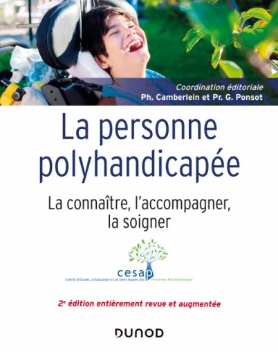 Couverture d'ouvrage: La personne polyhandicapée de Philippe Camberlein, Gérard Ponsot